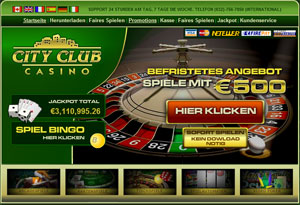 city club casino online
